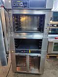 Печь конвекционная MIWE Aeromat 4.64  (5 уровней) ++расстойка   пароувлажнением б/у  Германия, фото 10