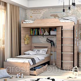 Кровать чердак Аякс для детей и подростков