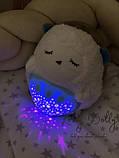 Ночник с проектором JLD 333-39 A Мишка белый шум, фото 3