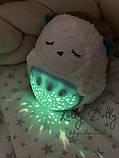 Ночник с проектором JLD 333-39 A Мишка белый шум, фото 2