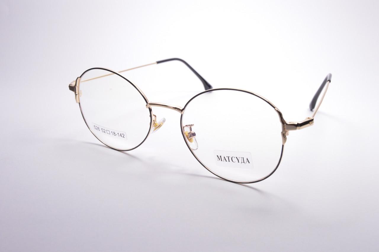 Стильные очки для работы за компьютером MATSUDA Blue Blocker (526 ч)