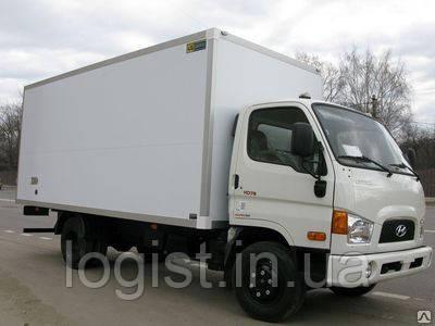Перевозки по Запорожской области изотермическими фургонами