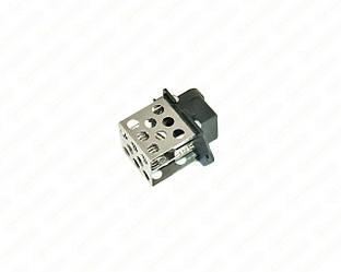 Резистор вентилятора охолодження двигуна на Renault Trafic II 2001->2014 - Polcar - 6026KST-6