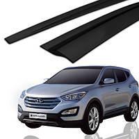 Ветровики, дефлекторы окон Hyundai Santa Fe 2012-2017 (Auto clover A144)