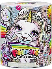 Ігровий набір Poopsie Surprise Glitter Unicorn MGA Блискучий Єдиноріг Пупси з сюрпризами 3 хвиля (551449)