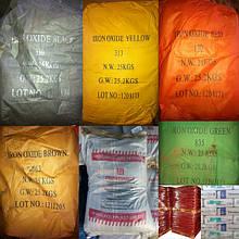 Железоокисные и неорганические пигменты для бетна, гипса, раствора, извести, красок и эмалей