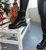 Жіночі стильні черевики на шнурках Dr. Martens, фото 1