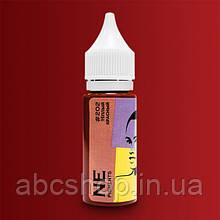 """Пигмент для татуажа губ """"Тёплый красный""""№202 Елены Нечаевой."""