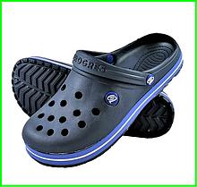 Чоловічі Тапочки CROCS Сині Крокси Шльопанці (розміри: 43,44,45,46)
