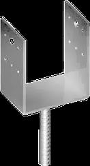 Опора(Подпятник)Для Деревянного(Столба)Под Бетонирование U-Образный 50x41х20мм 3MU006U005040B5A36