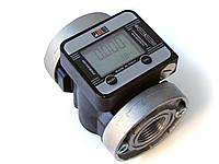 Точный электронный счетчик расходомер К-600/3 ( до 100 л/мин) для дизтоплива и масла, PIUSI Италия