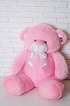 Плюшевий Ведмедик Бойд 125 см Рожевий