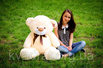 Плюшевий Ведмедик Бойд 125 см Абрикосовий
