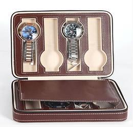 Скринька шкатулка для зберігання наручних годин (8 годин) Коричневий