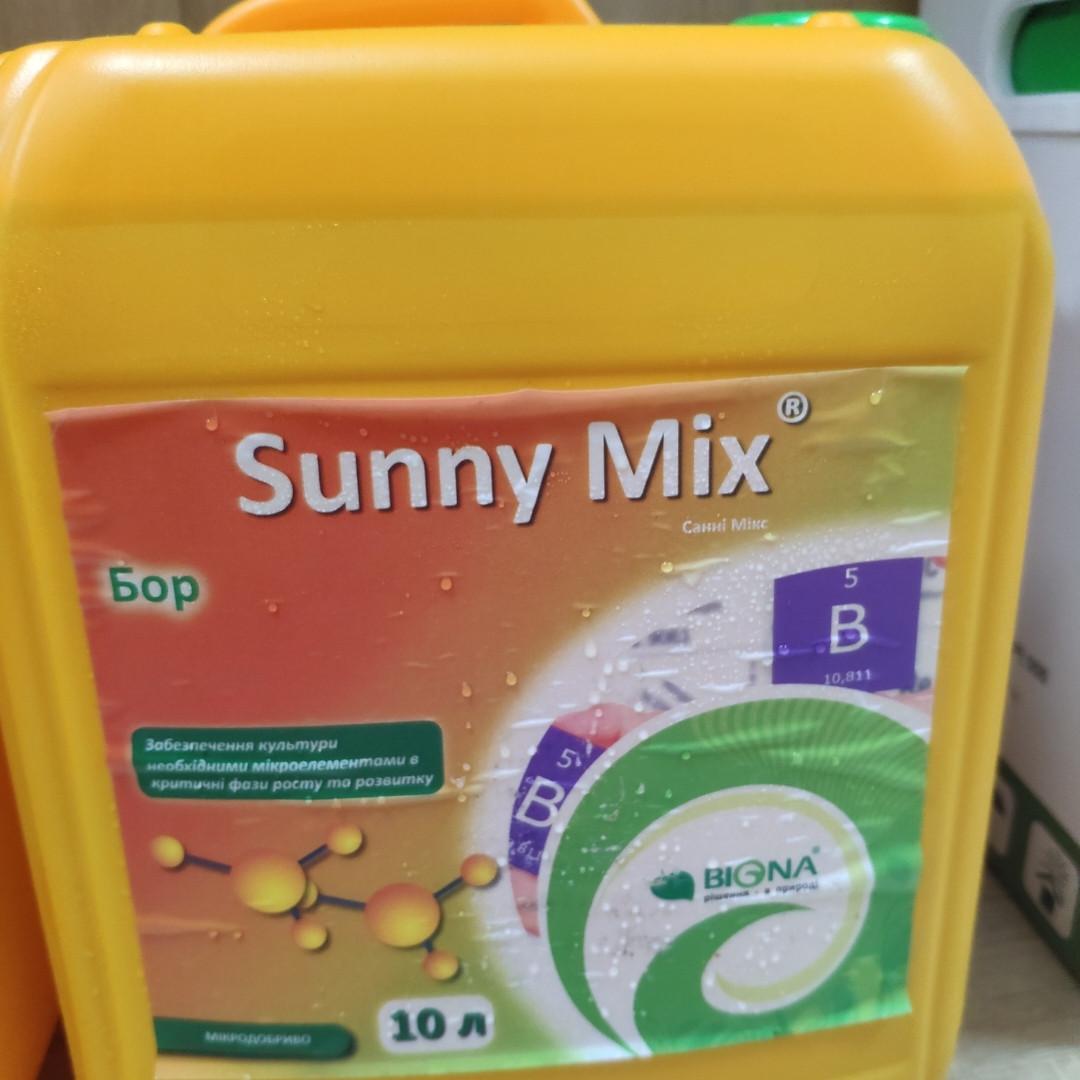 Санні мікс (Sunny Mix®) бор (Біона) 10,4%, 10л
