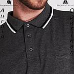 Поло мужское большых размеров Pierre Cardin из Англии, фото 5
