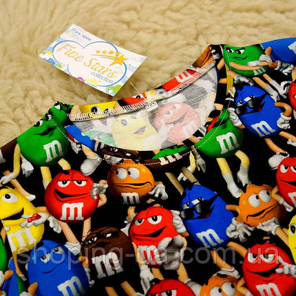 Дитяча футболка M&m's Five Stars KD0433-140р, фото 2