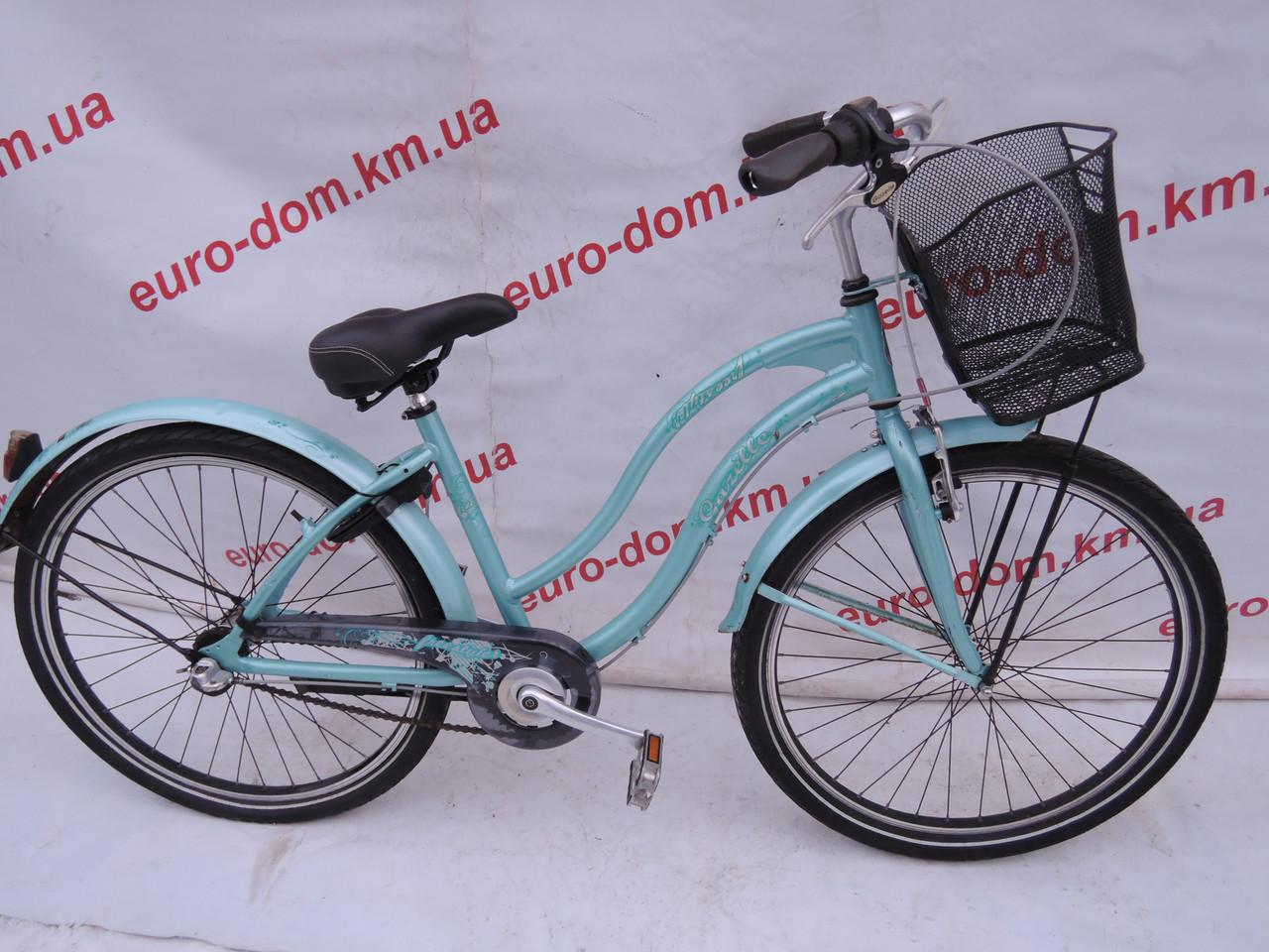 Городской велосипед Gazelle 26 колеса 3 скорости на планетарке