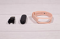 Фитнес браслет Smart Watch M5 Pro (фитнес трекер, смарт браслет, пульсометр, розовый), фото 4
