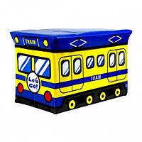 Пуф детский складной Трамвайчик, фото 1