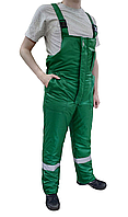 Полукомбинезон утеплённый FREE WORK Эксперт зеленый