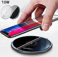 Беспроводная зарядка для телефона ESSAGER Charge Wireless Q10.Цвет: чёрный.
