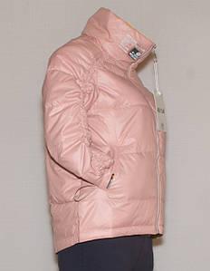 Курточка весна-осінь жіноча молодіжна рожева (M-XXL)