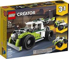 Конструктор LEGO Creator Вантажівка-ракета 31102