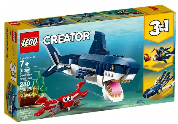 LEGO Конструктор Creator Обитатели морских глубин 31088