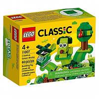 LEGO Конструктор Classic Набор для конструирования зеленый 11007