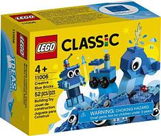 LEGO Конструктор Classic Набор для конструирования синий 11006