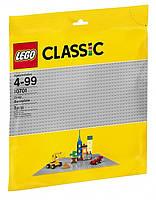 LEGO Конструктор Classic Базовая пластина серая 10701