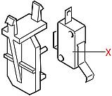 186723600 Мікроперемикач(відкриття двері), X3M502N2KAM92AS, Vienna, фото 2