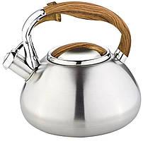 Чайник со свистком 3 л Bohmann BH 7602-30 wood