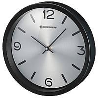 Годинники настінні Bresser MyTime Silver Edition Digit Black (8020316CM3000), фото 1