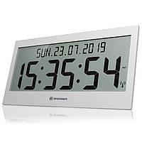 Часы настенные Bresser Jumbo LCD Grey (7001802QT5000), фото 1
