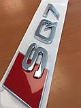 Шильдик з логотипом SQ7 Оригінал 4M08537352ZZ, фото 2