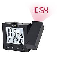 Проекційні годинники Explore Scientific Projection RC Alarm Black (RDP1001CM3LC2), фото 1