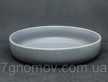 Салатник керамический серый Гармония 23 см