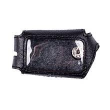 Чехол для брелока Starline A61/ A91 Valenta кожаный Черный (РК66)