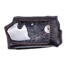Чехол для брелока Pandora DXL 5000 Valenta кожаный Черный (РК71)