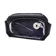 Чохол для брелока Sheriff 925 Valenta шкіряний Чорний (РК22)