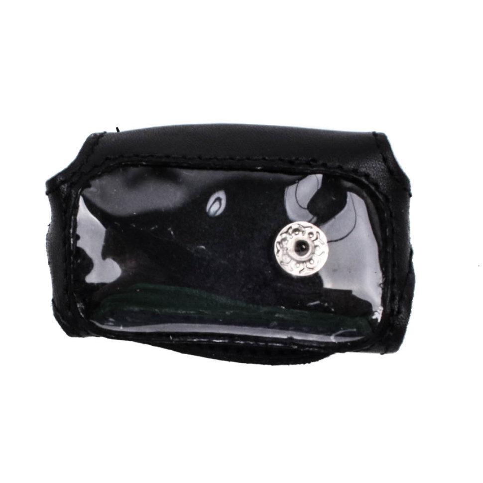 Чехол для брелока Davinci 300/377 Valenta кожаный Черный (РК44)