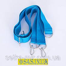 Система крепления Лента полипропиленовая для детские подвесные гимнастические веревочные спорттовары, синяя