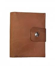 Шкіряний кардхолдер-гаманець для монет Valenta Карамельний (ХР247283t)
