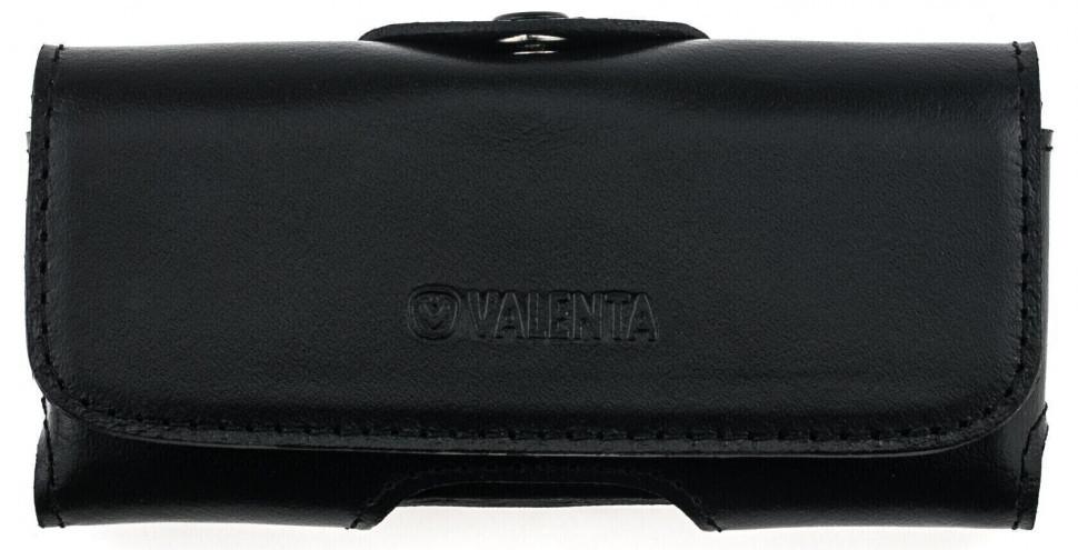 Кожаный чехол на пояс Valenta 570СБ для Nokia 210 Черный