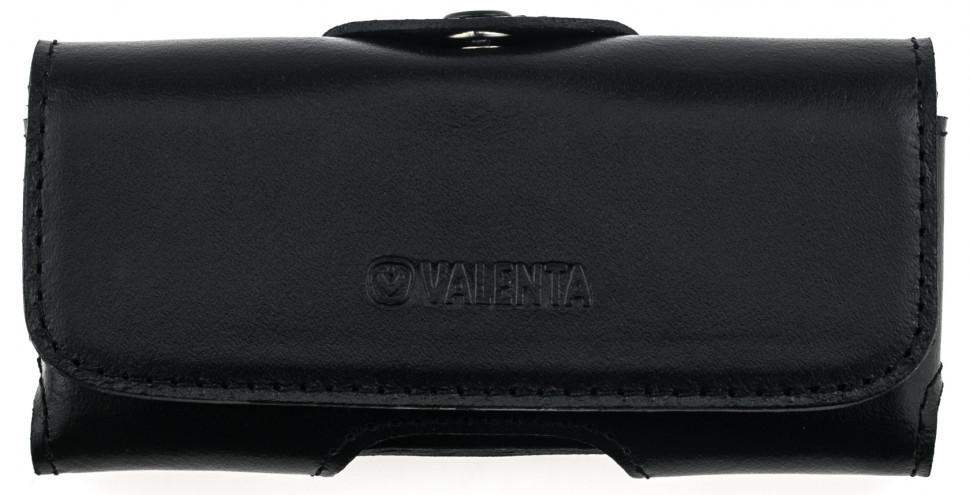 Кожаный чехол на пояс для Nokia 150 2020 Valenta 570L Черный