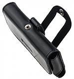 Кожаный чехол на пояс Valenta 570Б для Nokia 515 Черный, фото 5