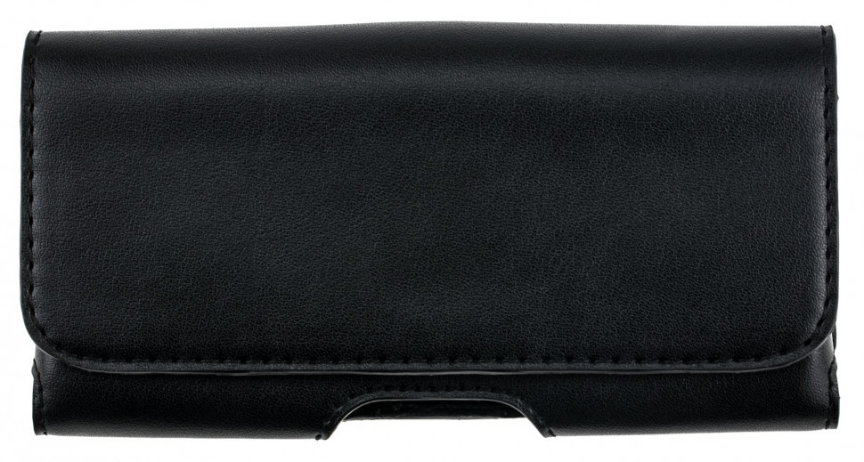 Шкіряний чохол на пояс для телефонів (153х77х12 мм.) Valenta 570XL Чорний