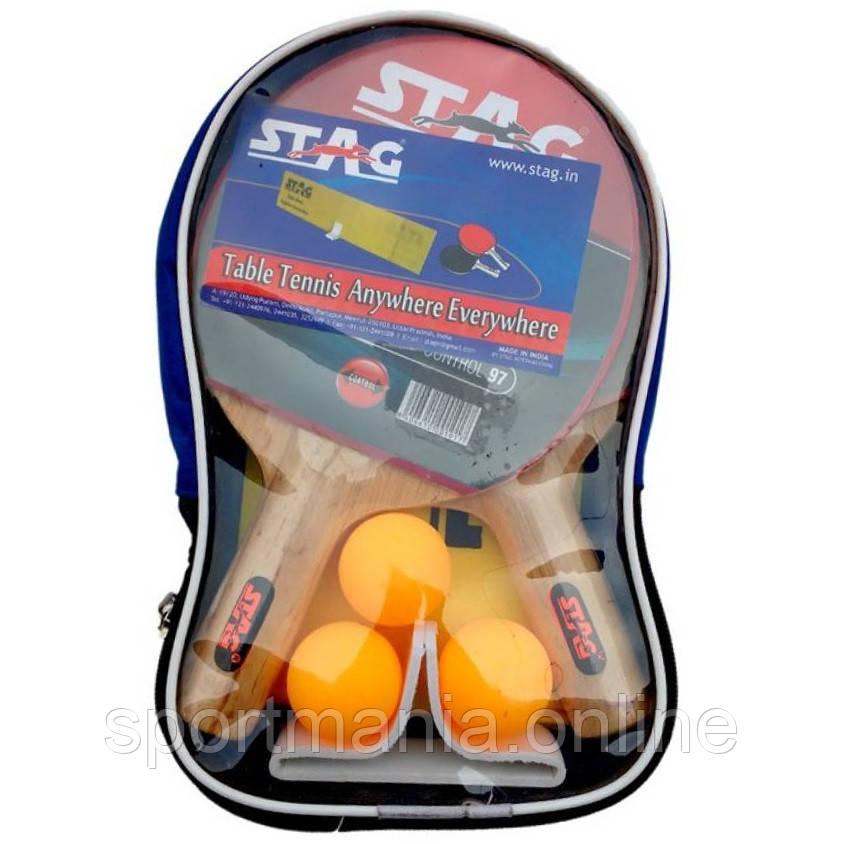 Набор ракеток и 3 шарика Stag Anywhere Everywhere